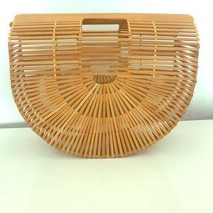 Handbags - Vintage Bamboo Purse